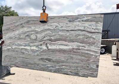 Brown Fantasy Granite Slab