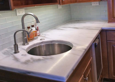 Honed VT. Montclair Marble Countertop