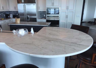 Silk Pearl Quartzite Bar Top