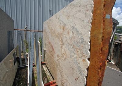 Sienna Bordeaux Granite Slab